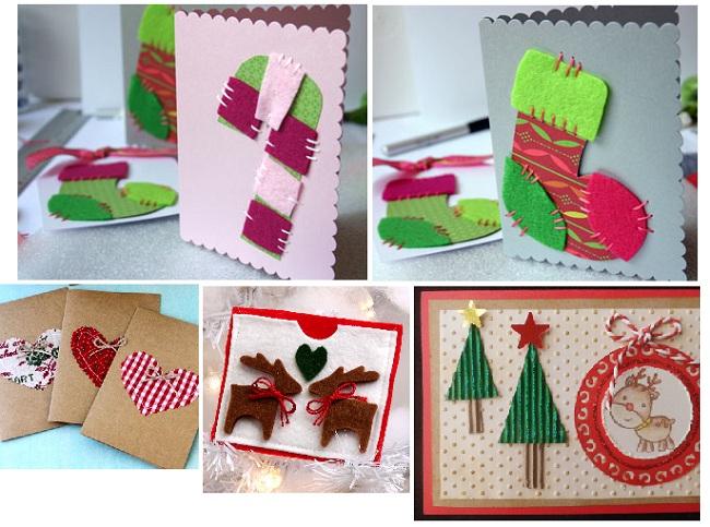 Postales De Navidad Hechas A Mano. Finest Tarjetas De Navidad Hechas ...