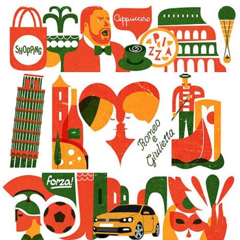 VW-italy-illustrations