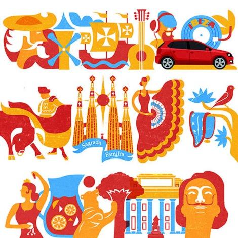 VW-spain-illustrations