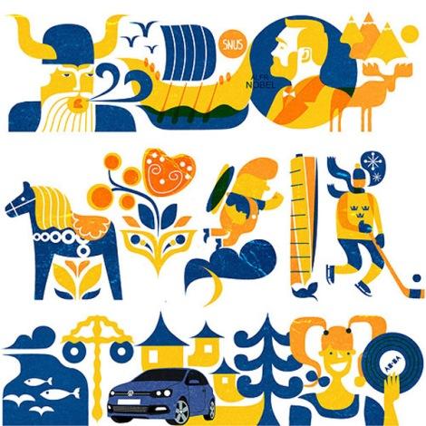 VW-sweden-illustrations