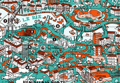 An-illustrative-map-of-Bilbao-Spain4