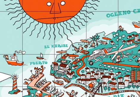 An-illustrative-map-of-Bilbao-Spain9