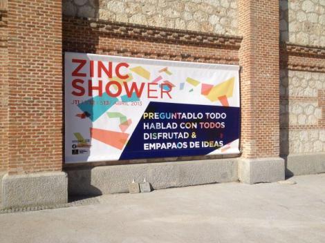 zinc shower comunikndo
