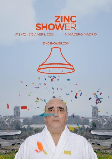 Zinc shower evento matadero madrid