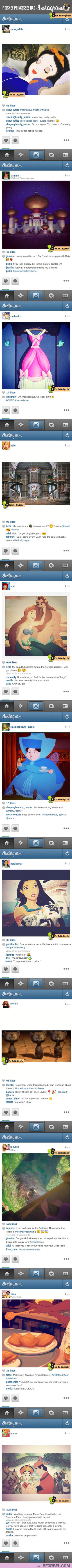 If-The-Disney-Princesses-Used-Instagram-1